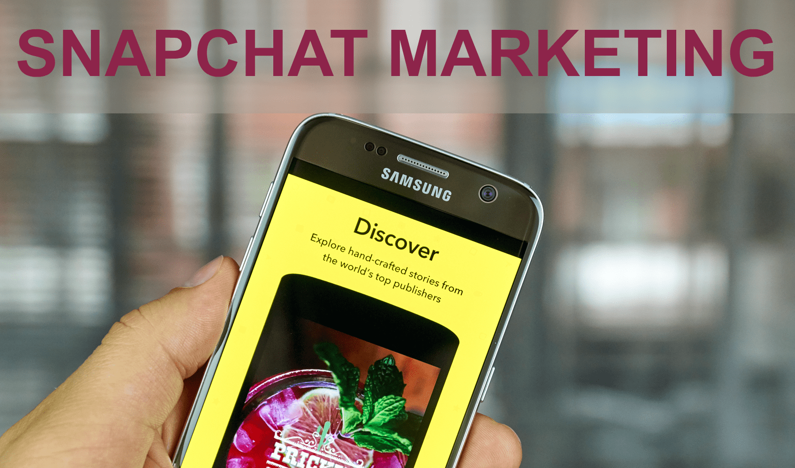 Snapchat Marketing | Digital Marketing Training Toronto