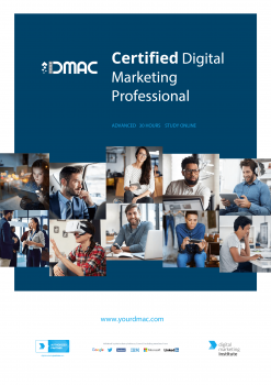 Brochure of Certified Digital Marketing Professional Course With International Accreditation & Certification 2019