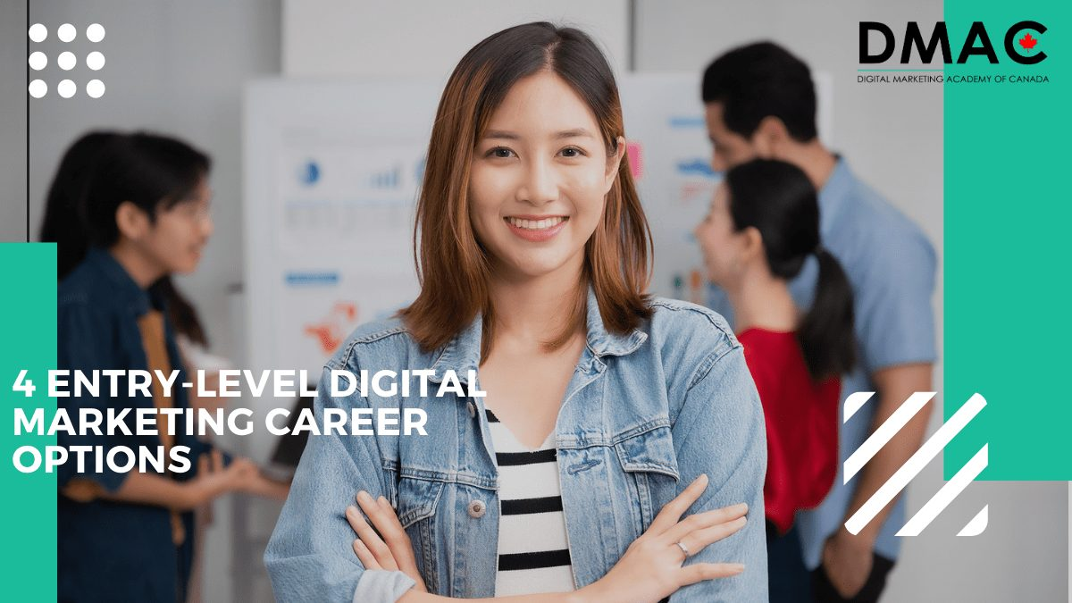 4 entry-level digital marketing career options