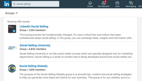 Network through LinkedIn Groups to land a job in digital marketing - DMAC